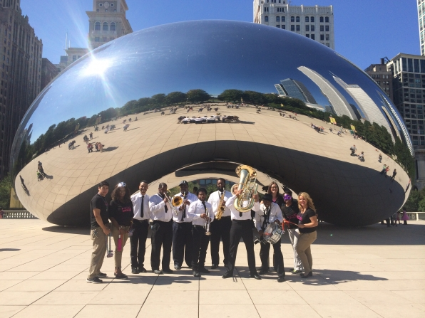 NCIS New Orleans Jazz Band in Chicago
