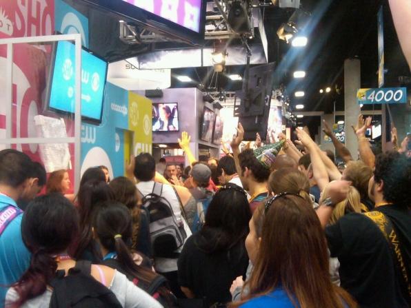 Crowd Gathers
