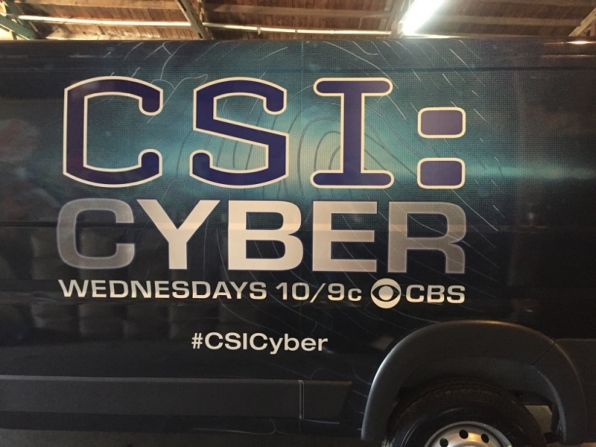 The CSI: Cyber van at South By Southwest Conference (SXSW)