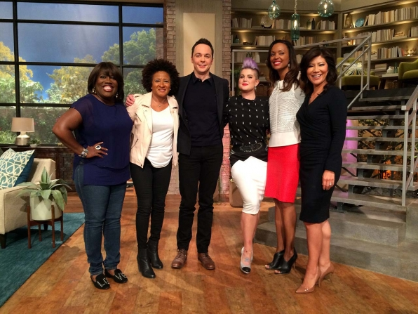 Jim Parsons on 'Home' co-star Rihanna