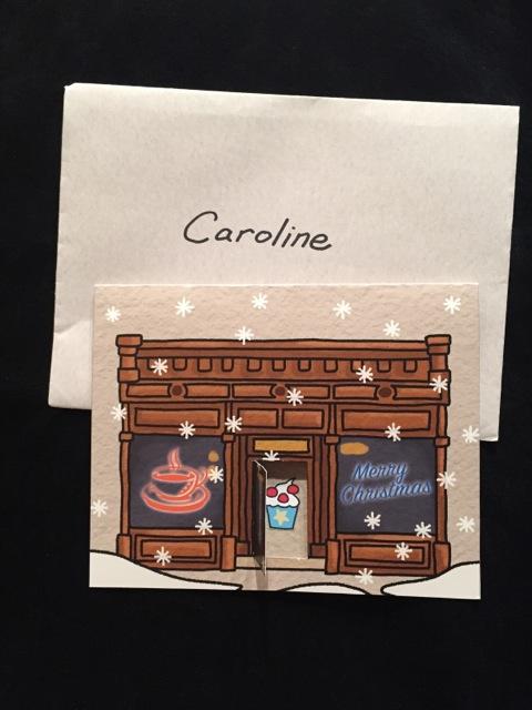 A cupcake for Caroline
