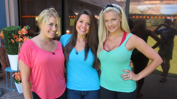 Ashley, Danielle and Janelle
