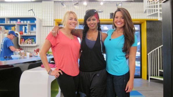Ashley, Jenn and Danielle