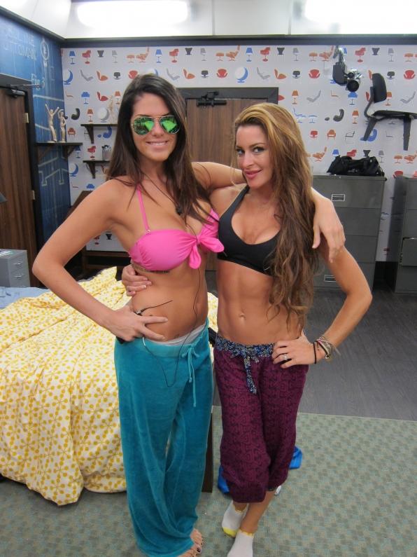 Amanda and Elissa