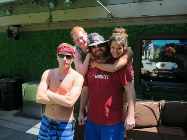 Judd, Andy, Spencer and Jessie