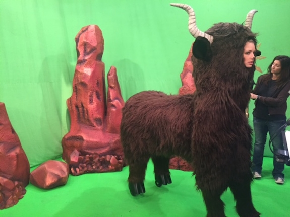 A lot of fur was involved in the making of Yak Girl.