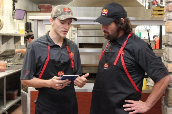 This Marco's Pizza general manager gives Bryon a detailed look into his daily routine.