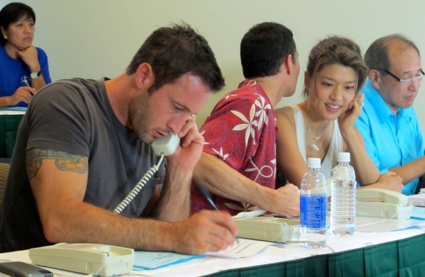 Alex O'Loughlin Gives Back