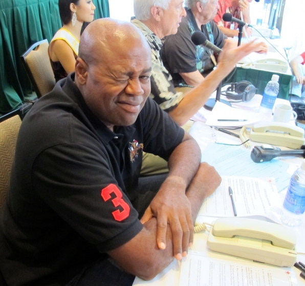 Chi McBride Joined the Phone Banks