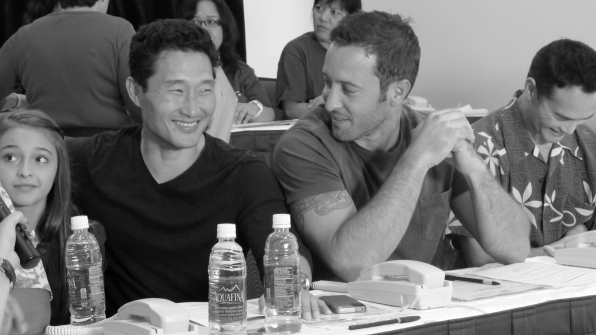 Daniel Dae Kim and Alex O'Loughlin