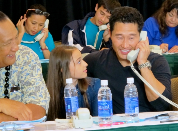 Daniel Dae Kim Joins the Phone Bank