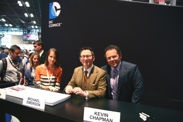 Amy Acker, Michael Emerson and Kevin Chapman