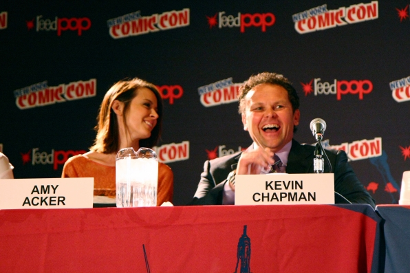 Amy Acker and Kevin Chapman