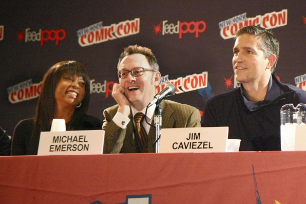 Taraji P. Henson, Michael Emerson and Jim Caviezel