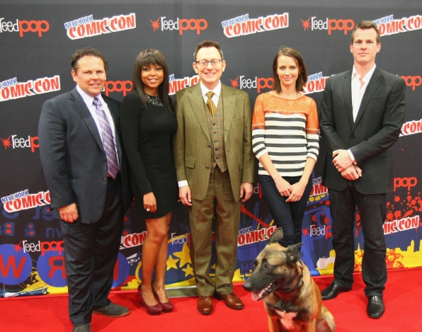 Person of Interest Cast and Crew Members on the Red Carpet