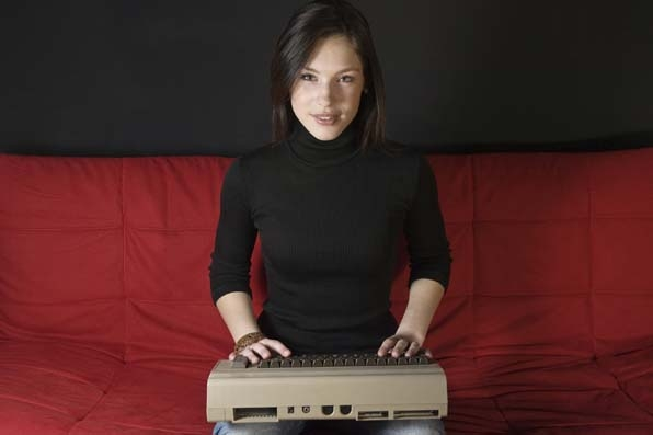 11. The Commodore 64 debuted