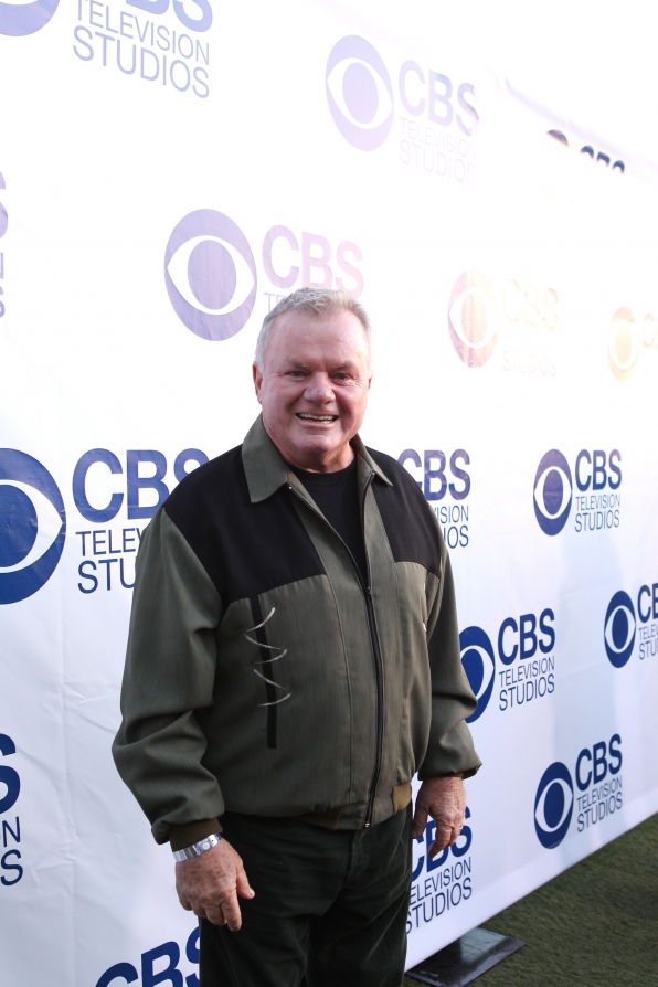Jack McGee on the CBS Summer Soiree Red Carpet