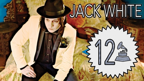 Jack White with 12 GRAMMY Awards