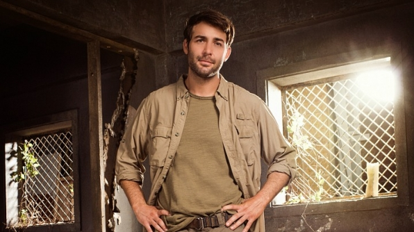 It's James Wolk, who plays Jackson Oz on Zoo!