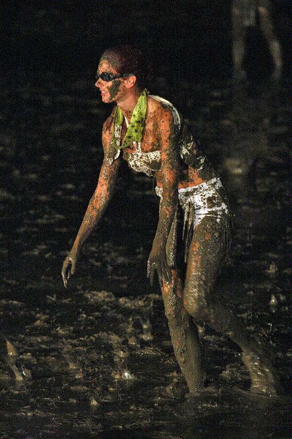 Jamie in the Mud Pit