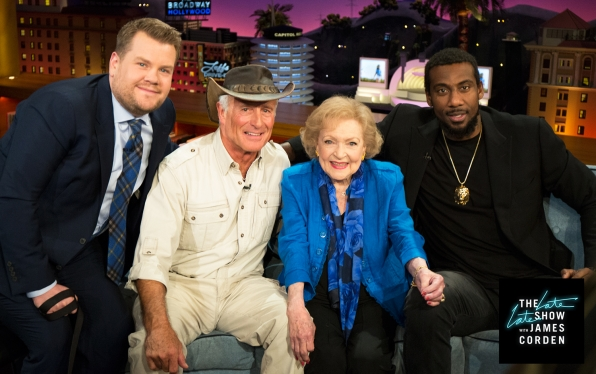 Jack Hanna, Betty White, and Amar'e Stoudemire