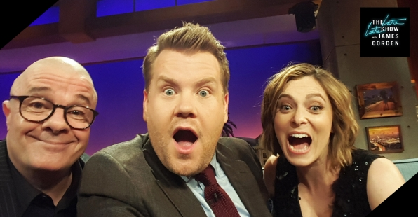 Nathan Lane and Rachel Bloom
