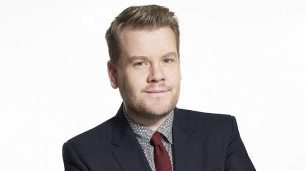 It's James Corden from The Late Late Show!