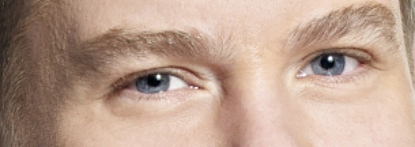 He may be on late, but these eyes are wide awake.