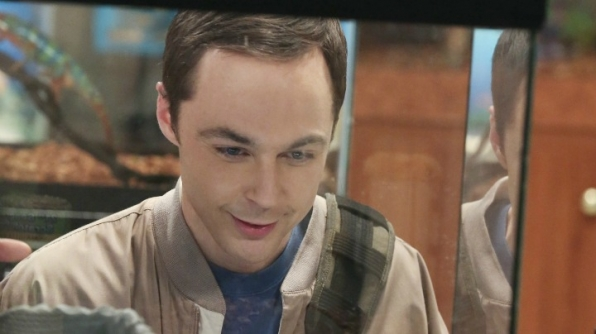 It's Jim Parsons, who plays Sheldon Cooper on <i>The Big Bang Theory!</i>