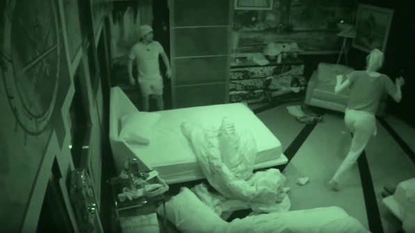 8. James startles the Houseguests with his epic pranks.