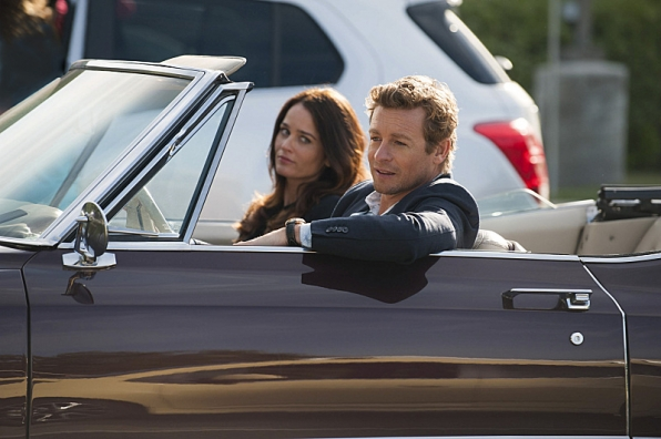 2. Patrick Jane & Teresa Lisbon on <i>The Mentalist</i>