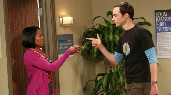 The Human Resourcer: Janine Davis (The Big Bang Theory)