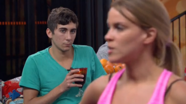 3. He thinks Shelli will be next on the chopping block.