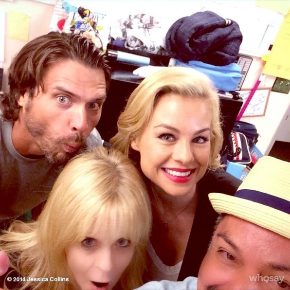 46. Joshua Morrow and Jessica Collins - The Young and the Restless