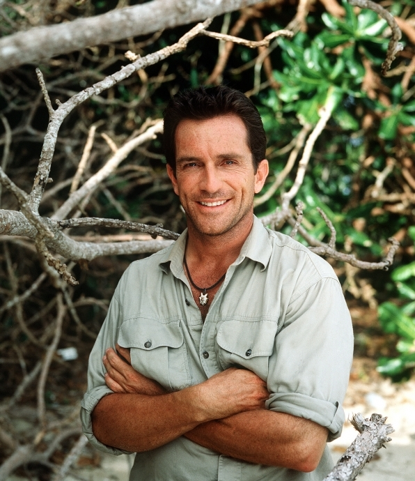 He's as handsome as when Survivor started.