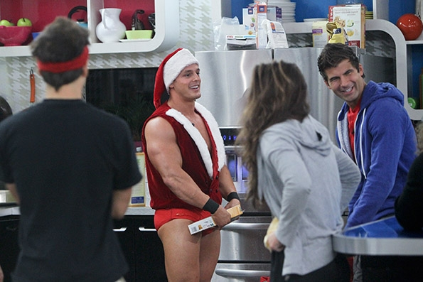 Jesse Claus Talks to the Houseguests