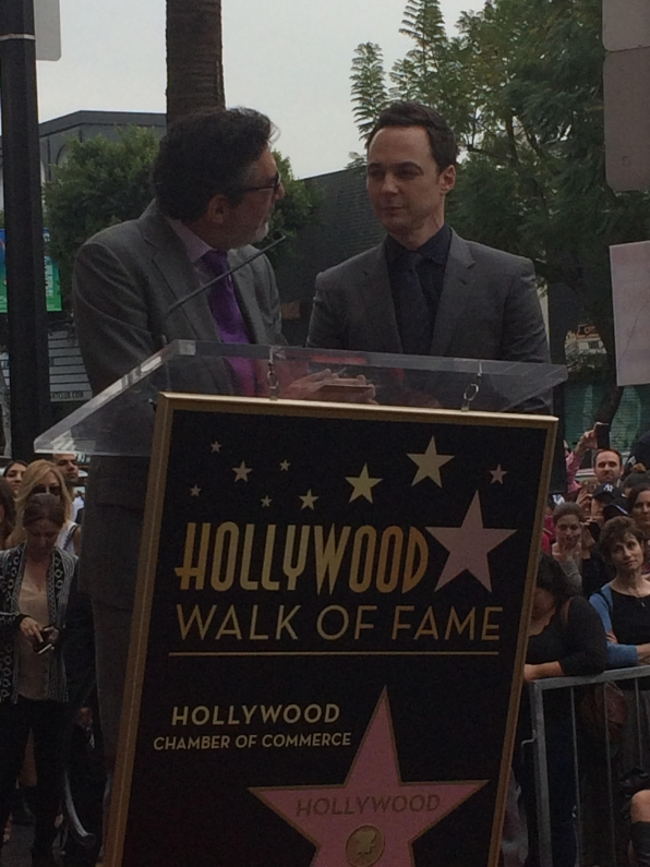 Jim honored with Hollywood Walk of Fame star