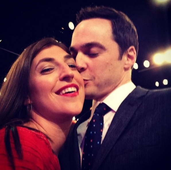 2. Jim Parsons and Mayim Bialik - The Big Bang Theory