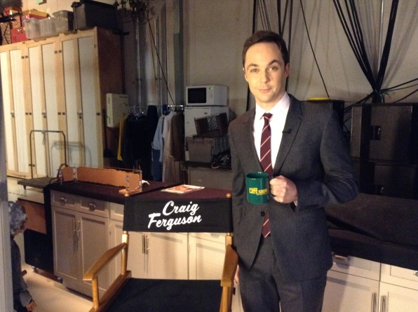 Jim Parsons - Behind the Scenes at The Late Late Show