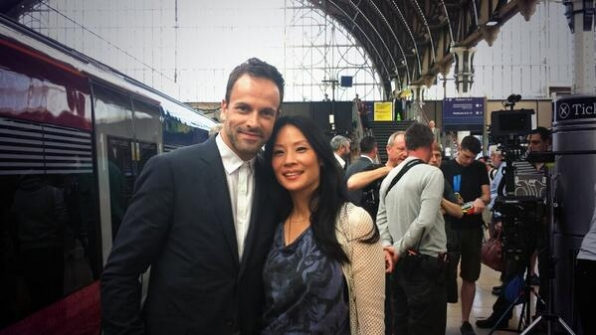 11. Jonny Lee Miller and Lucy Liu - England - Elementary