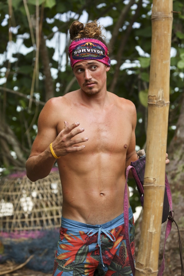 Joe Anglim from Survivor
