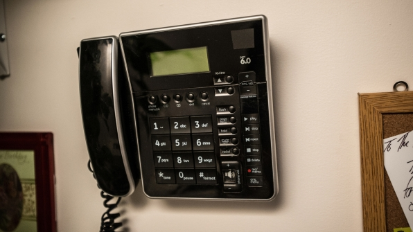 Even the Ramsey's home telephone was recreated for the investigation.