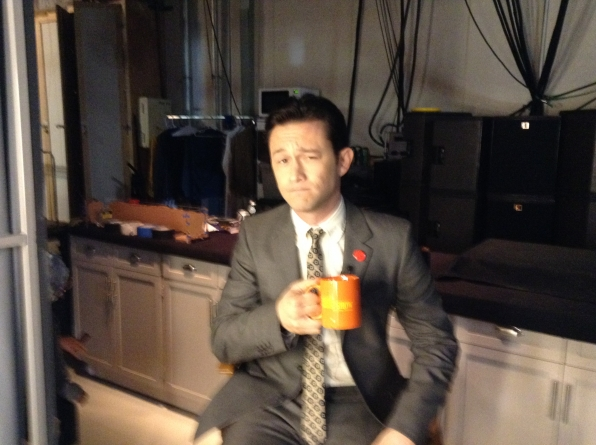 Joseph Gordon-Levitt - Behind the Scenes at The Late Late Show