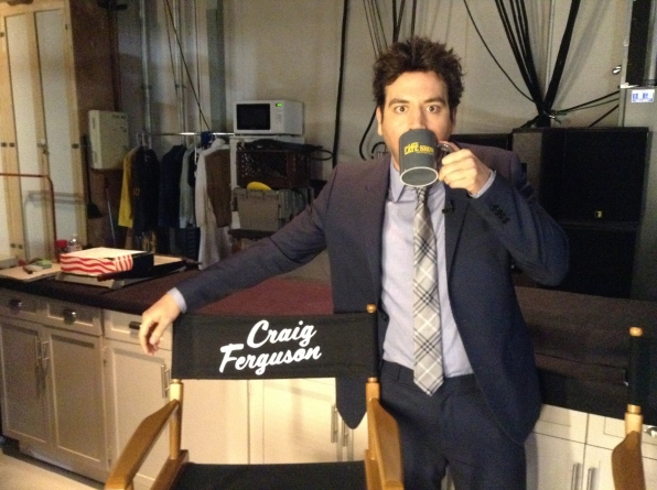 Josh Radnor - Behind the Scenes at The Late Late Show