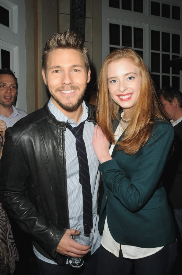 Ashlyn Pearce and Scott Clifton
