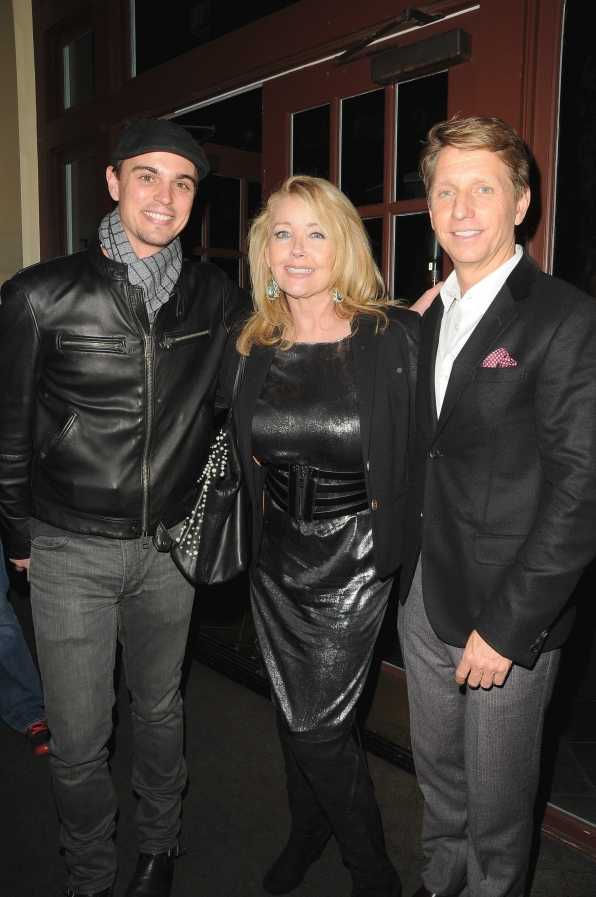Darin Brooks, Melody Thomas Scott and Bradley Bell