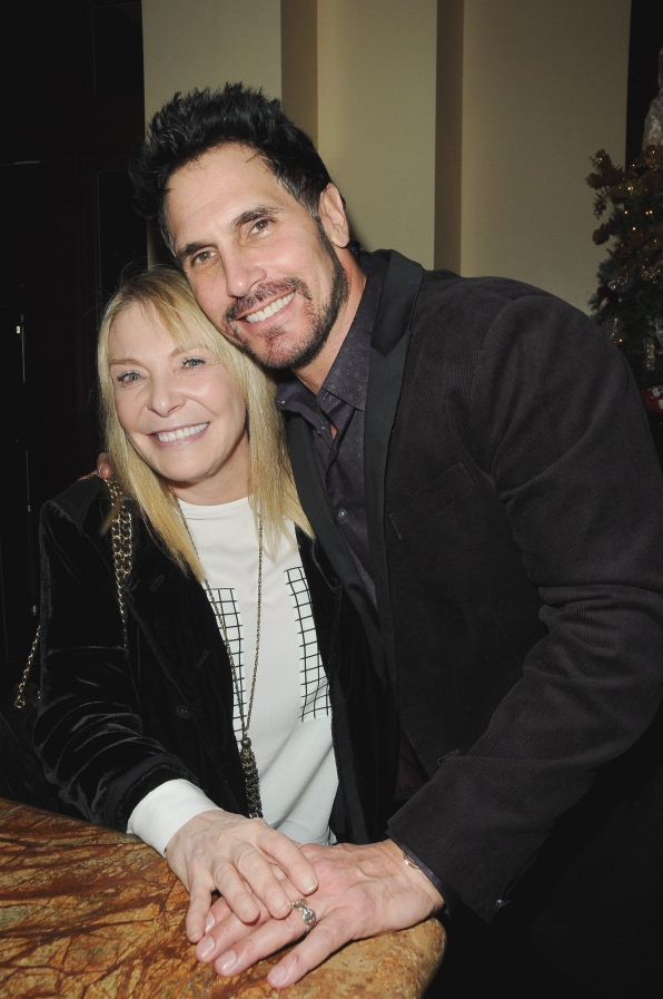 Don Diamont and Rhonda Friedman