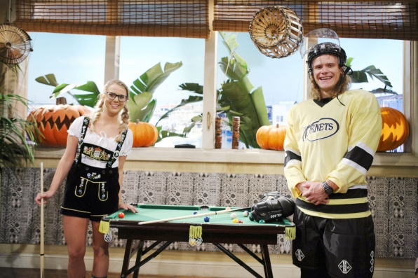 Nicole Franzel and Hayden Voss