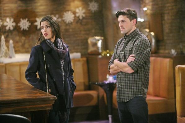 Noah ponders Marisa's loyalty.