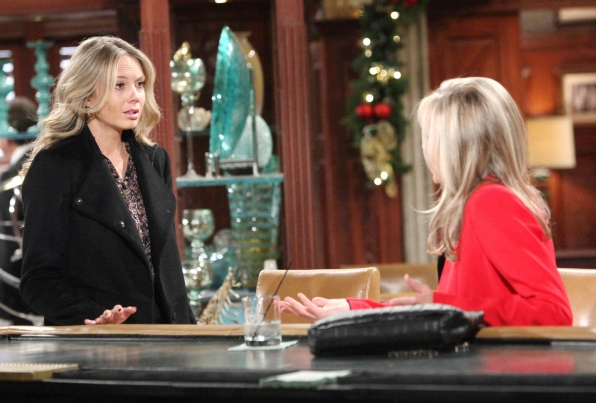 Abby confronts her mother.